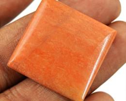 Genuine 26.50 Cts Untreated Orange Aventurine Cab
