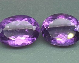 10.90 Crt Natural Purple Amethyst Faceted Gemstone (R 92)