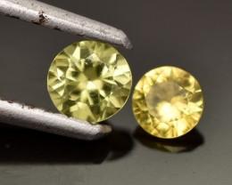 0.52cts Australian Sapphire Pair (not matching) (RSA490)