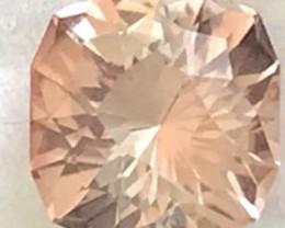 Designer Cut 2.76ct Golden Peach Tourmaline, Tanzania A1826