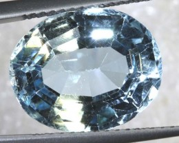 8.45CTS BLUE TOPAZ  FACETED GEMSTONE TBG-2590