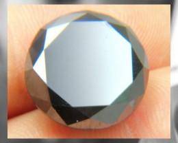 Huge Black Diamond - 7.32 CT's - Rare Brazilian Beauty