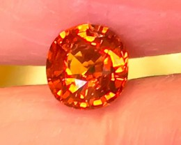 Blazing Hot Orange Namibian Mandarin Garnet VVS gem