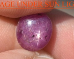 3.70 Carats Star Ruby Beautiful Natural Unheated & Untreated