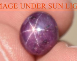 5.75 Carats Star Ruby Beautiful Natural Unheated & Untreated