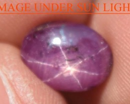 4.75 Carats Star Ruby Beautiful Natural Unheated & Untreated