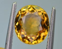 3.22 ct Bi Color Golden Tourmaline AAA Fire SKU-6