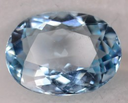 Gil Cert Sky Blue 3.95 ct Aquamarine Untreated Brazillian SKU.2