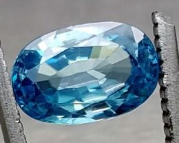 3.10 Crt Top Blue Zircon  Gemstone   Jl141