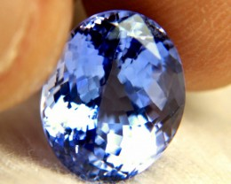 CERTIFIED - 8.93 Carat IF/VVS1 Vibrant Tanzanite