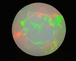 1.36 ct Peruvian White Opal SkU-1