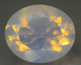 2.42 ct Natural  White Opal SkU-1