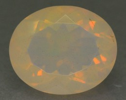 3.43 ct Natural White Opal SkU-1