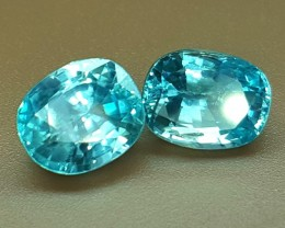7.10 Crt Natural Zircon Faceted Gemstone (R 93)
