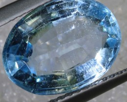 5.90CTS BLUE TOPAZ  NATURAL STONE FACETED TBG -2599