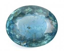 3.05 Cts Natural Santa Maria Blue Aquamarine Oval Cut Brazil Gem