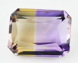 2.91 Cts Natural Ametrine Bi-Color Octagon Bolivia