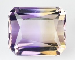 4.77 Cts Natural Ametrine Bi-Color Octagon Bolivia