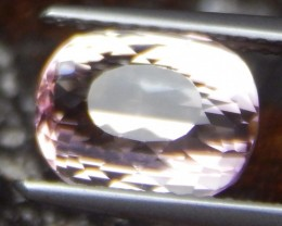 3.41cts, Certified Peach Tourmaline, No Treatment,