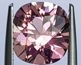 2.81cts, Certified Pink Tourmaline, Precision Cut, Untreated,
