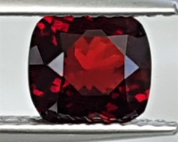 1.11cts Certified  Burma  Red Spinel, 100% Untreated, Top Cut