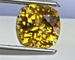 Mali Garnet,  Rare Color,   Precision Cut, Untreated,