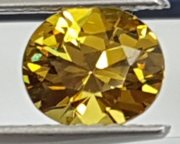 1.33cts, Mali Garnet, Rare Color  Untreated, Precision Cut,