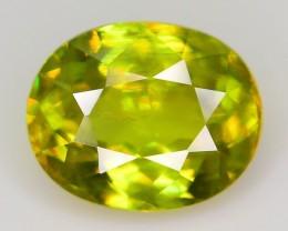 Top Color 2.18 ct Mint Sphene Madagascar SKU.10