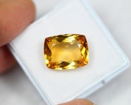 Lot 08 ~ 7.83Ct Natural VS Clarity Golden Yellow Color Citrine