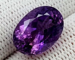 7 CT PURPLE AMETHYST BEST QUALITY GEMSTONE IGC69