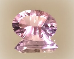 4.63ct Color Shift Pink Mauve Amethyst - Concave cut NR
