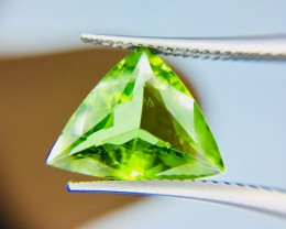 4.30 Crt Top Quality Pakistan Peridot  Faceted Gemstone