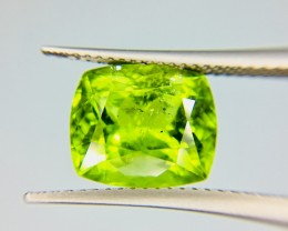 5.55 Crt Top Quality Pakistan Peridot  Faceted Gemstone