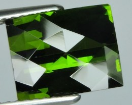 3.90 CTS EXTREMELY FINE FIRE NATURAL GREEN TOURMALINE