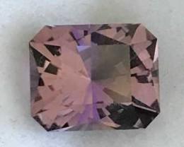 Designer Cut: 5.15ct Emerald Cut Ametrine, Bolivia  A1839