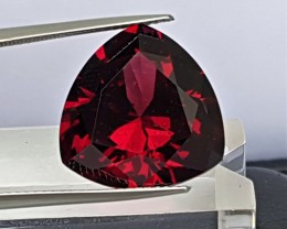 19.16cts  Red Rhodolite , Untreated, Precision Cut