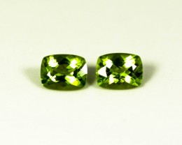 Green Peridot 4.30 ct Pakistan