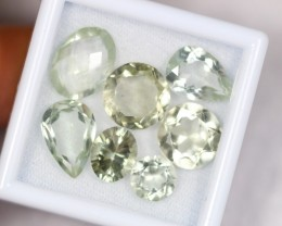 Lot 07 ~ 29.03Ct Natural VS Clarity Green Color Amethyst