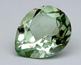 4.35 Crt Green Amethyst Prasolite  Gemstone   Jl143