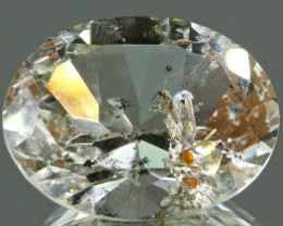 Very Rare Big Topaz with hematite inclusions 23.5cts - NR Auctions