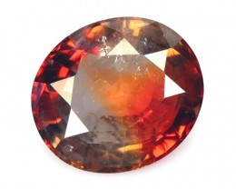 ~Bi-Color~ 2.08 Cts Natural Corundum Sapphire Oval Sri Lanka