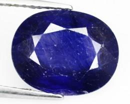 4.63 Cts Natural Blue Sapphire Oval Cut Thailand Gem