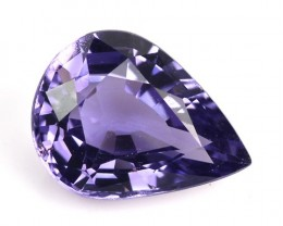 1.51 Cts Natural Nice Blue Spinel Pear Tanzania