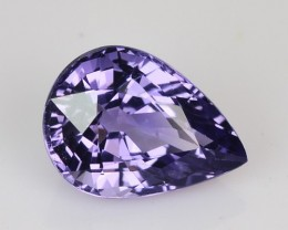 1.22 Cts Natural Nice Blue Spinel Pear Tanzania