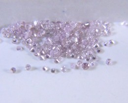 0.97ct Pink Diamond Parcel, 100% Natural Untreated Diamonds