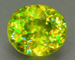 AAA Fire 4.07 ct Sphene aka Titanite Madagascar SKU.6