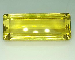 27.0 Crt Natural Lemon Quartz Faceted Gemstone (R 95)