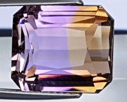 12.34cts, Certified Ametrine, 100% Untreated,
