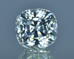 9.92 Cts Beautiful Sparkling Lustrous Natural White Zircon Cambodia