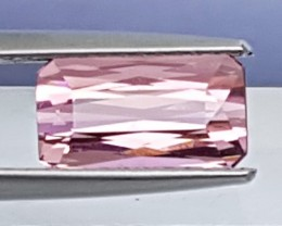 2.16cts, Pink Tourmaline,  Untreated,  Clean